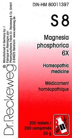 S08 Magnesia phosphorica - 6X 20g (200 tablets)